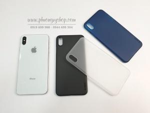 Ốp cứng siêu mỏng MEMUMI iPhone Xs Max
